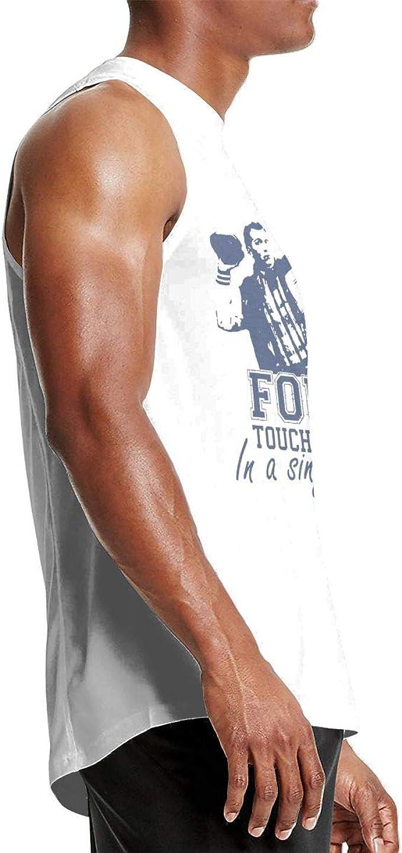 KLKLK Muskelshirt Al Bundy 4 Four Touchdowns in A Single One Game TDs Polk High School Men Sleeveless Tshirts Personality Tank Top