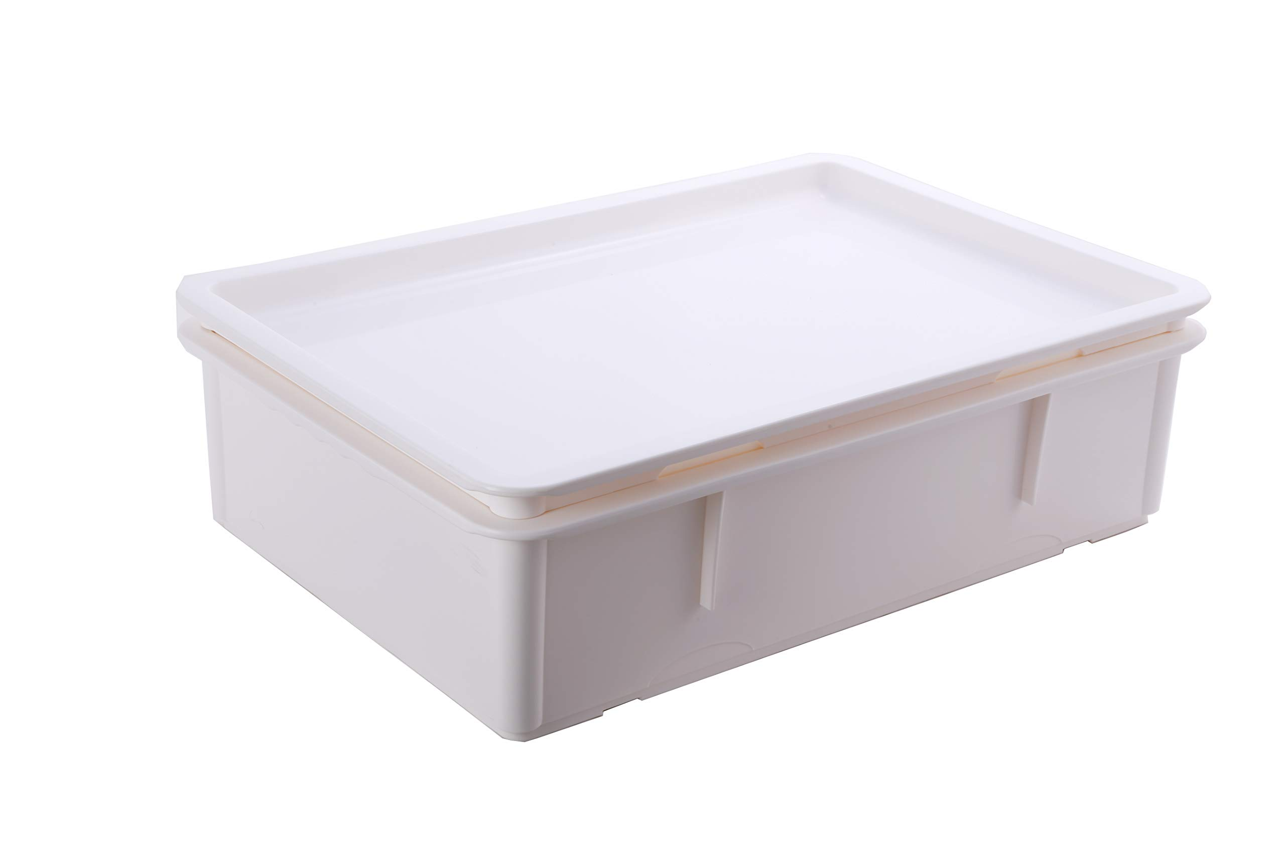 Hakka Commercial Stackable Pizza Dough Container&Dough Srorage Box with Cover