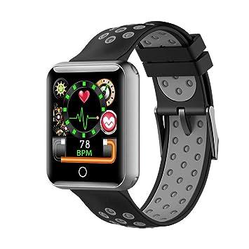 Fitness Tracker IP68 a prueba de agua para nadar, reloj inteligente con presión arterial,