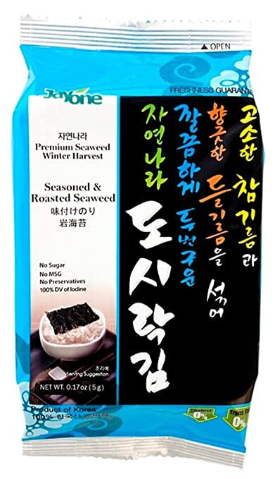Jayone Seaweed Snacks $0.28 pe...