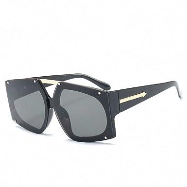 1d2d927122 Raycoon Fashion Sunglasses Women Oversized Square Sun Glasses Ladies  Gradient Shades UV G338 C1 Gray Lens