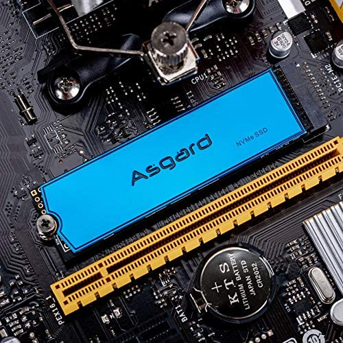 Asgard 1TB AN3 High Performance NVMe M.2 Internal Gaming SSD Metalic Blue R/W 3200/2000MB/s