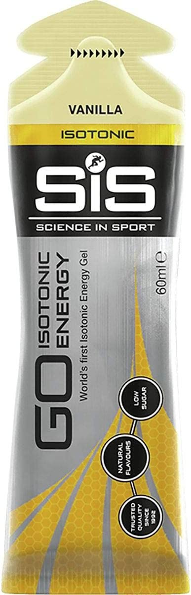 Science in Sport GO Isotonic Gels Vanilla, 60ml 30-Pack
