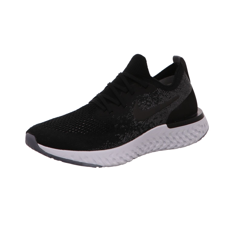Nike Women's Epic React Flyknit Running Shoes (9.5, Black)