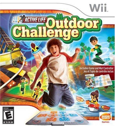 Mat Nintendo Wii Family - Active Life Outdoor Challenge - Nintendo Wii