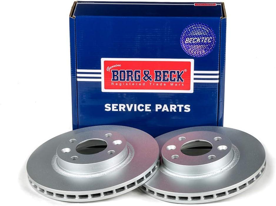 BORG /& BECK BBD5328 Rotores de disco de freno