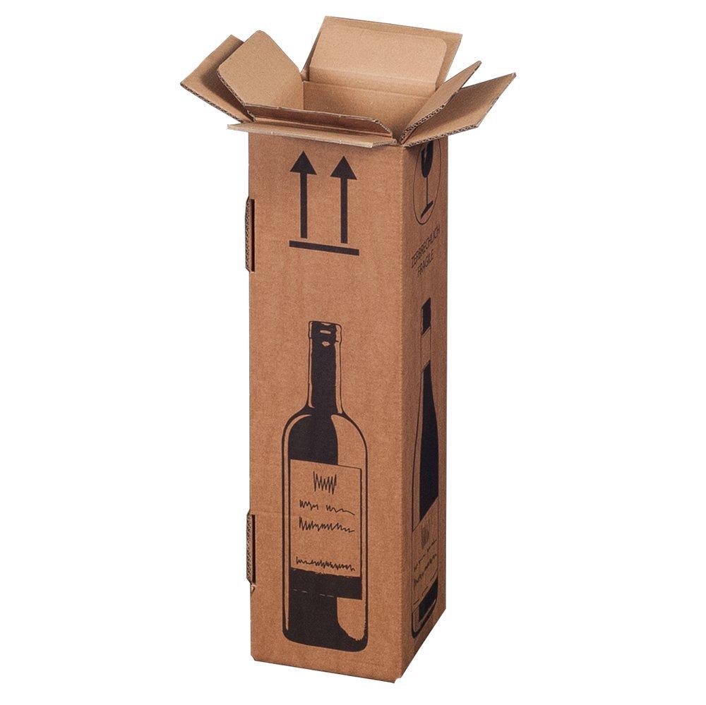 Magnum - Caja de envío para 1 botella de vino (certificado ...