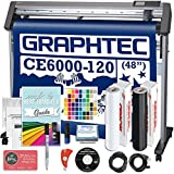 Graphtec Plus CE6000-120 48 Inch Professional Vinyl Cutter with Bonus $2100 in Software, Oracal 651, and 2 Year Warranty