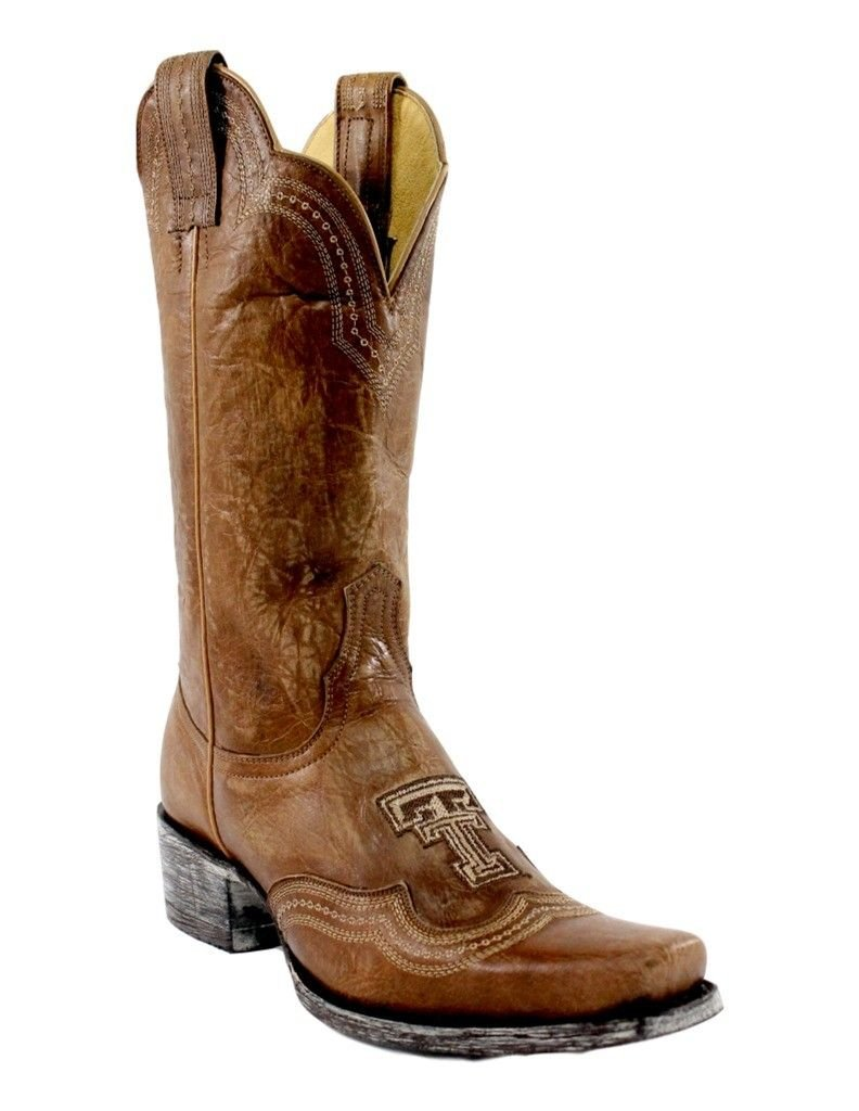 Orix 8.5 B (M) US Orix 8.5 B (M) US NCAA Womens Ladies 11 Inch Texas Tech Gameday Boot