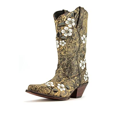 """Durango Women's 12"""" Floral Embroidery Boots ..."""