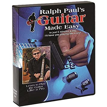 Amazon.com: AS SEEN ON TV Ralph Paul \ s guitarra hecho ...