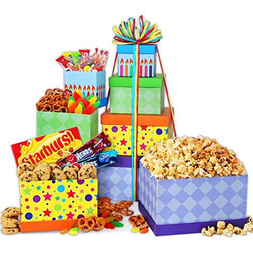Happy Birthday Gift Tower ()