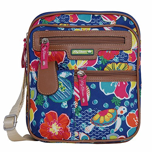 Lily Bloom Gigi Cross Body Messenger Bag (TURTLE POWER)