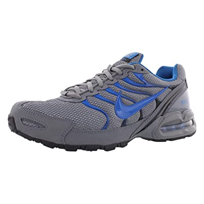 Nike Mens Air Max Torch 4 Running Shoes (8.5), Cool Grey/Military Blue/Black | Road Running