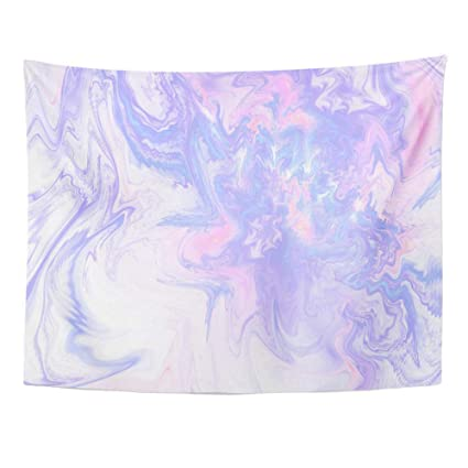 Amazon Com Ygyurri Wall Tapestry Abstract Fantasy Marble