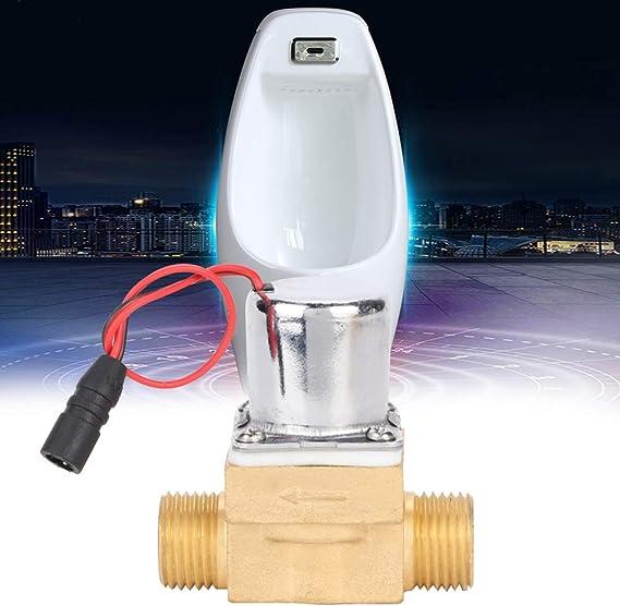 Garosa Robinet Sol/éno/ïde Haute Qualit/é Maison Salle De Bains en Cuivre Urinoir en Sonde 6V /Électrovanne Entretien Accessoire A