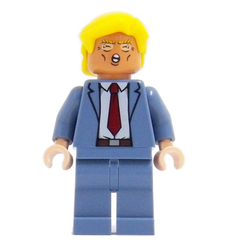 Donald Trump - miniBIGS Custom Figure made from Genuine LEGO Minifigure Elements