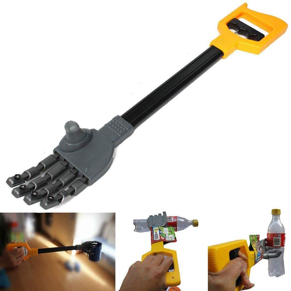 F-blue Kunststoff-Roboter-Greifer-Hand Grabber Grabbing-Stock-Hand Handgelenk Stärkung DIY Roboter-Zupacken-Kind-Junge-Spielzeug