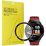 Compatible for HUAWEI Watch GT 2e Screen Protector, Blueshaw 3D Full Coverage PET Soft Screen Protector Film for HUAWEI Watch