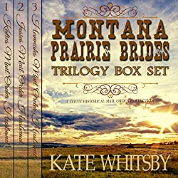 Montana Prairie Brides Trilogy 3 Book Bundle Box Set