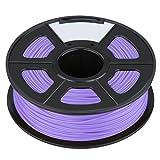 3D Printer Filament - SODIAL(R)3D Filament 3.0mm PLA for Print RepRap MarkerBot Rapman 1kg/2.2lbs, Purple
