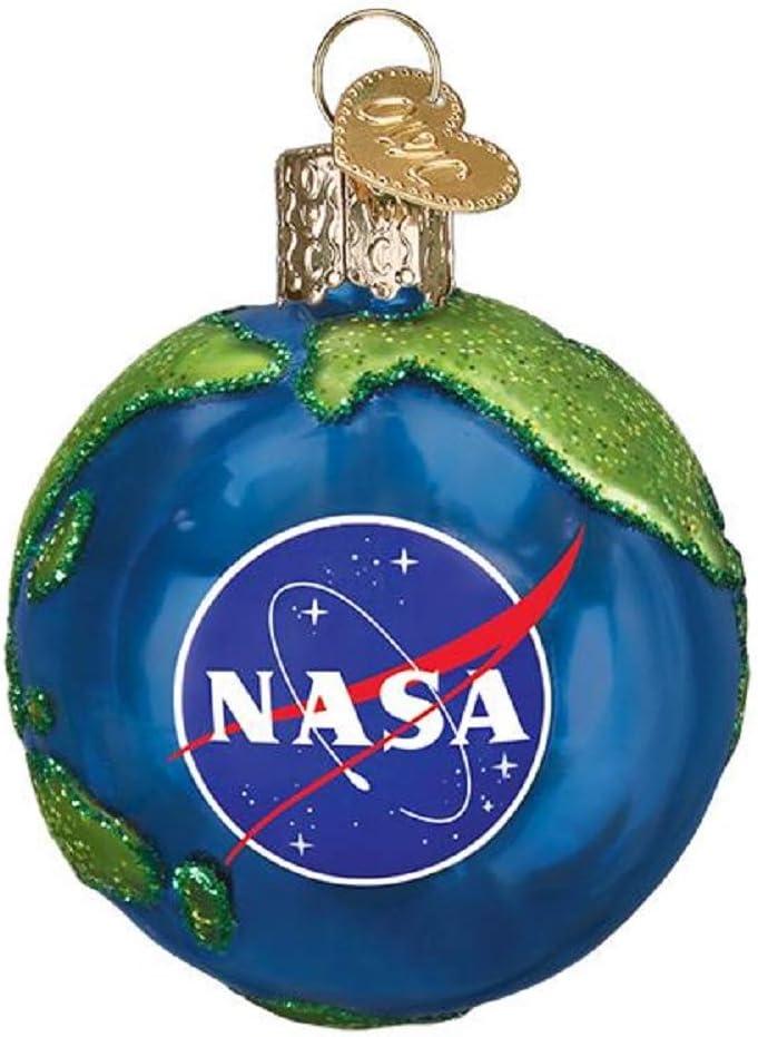 Old World Christmas NASA Earth Tree Ornament