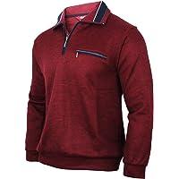 Soltice Sudadera, polo, jersey de manga larga para hombre, de invierno, de punto, de mezcla de algodón (desde M hasta…