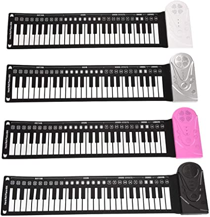 Teclado de Piano para niños, multifunción, 49 Teclas, Piano ...