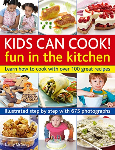 kids can cook cookbook - 3