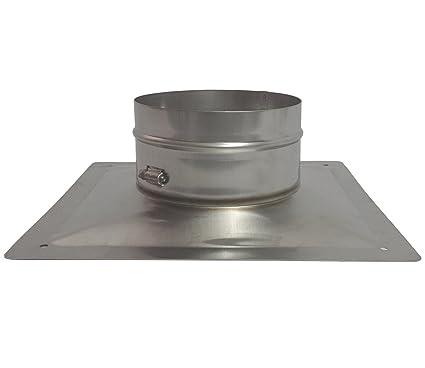 Amazon.com: Rockford Chimenea placa superior de acero ...