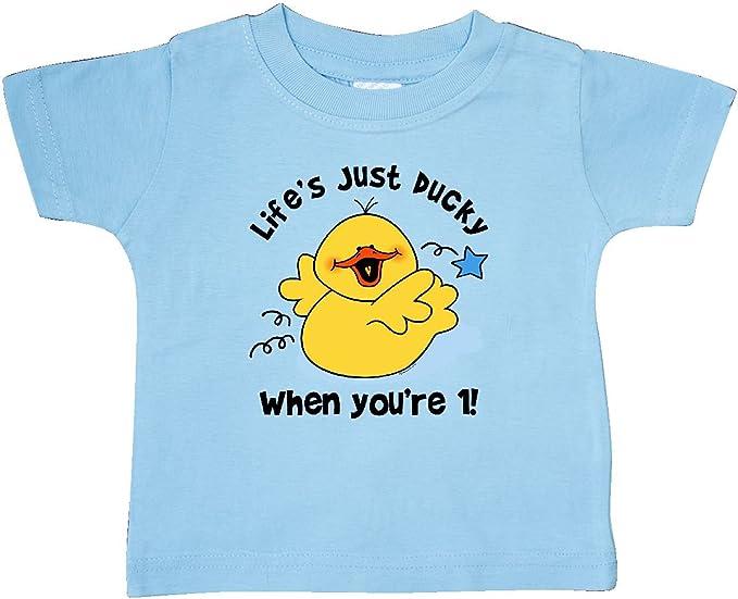 Amazon.com: inktastic Baby Boys de la vida Ducky 1er ...