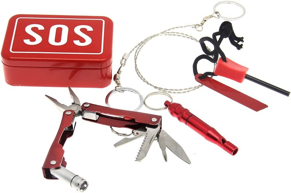 Pocket Sized Travel S.O.S. Survival Kit by Decor Craft Inc