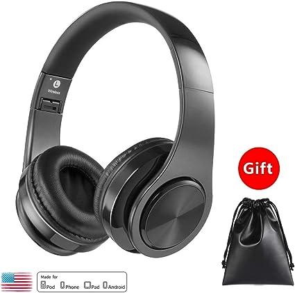 Amazon.com: Auriculares Bluetooth con micrófono VANCCA ...
