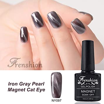 Amazon.com : Frenshion 10ml Magnetic Cat Eye Gel Polish 3D Gel Nail ...