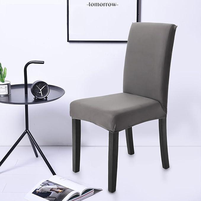 Fundas para sillas Pack de 4 Fundas sillas Comedor, Lavable Extraíble Comedor Asiento de la Silla del Asiento Cubre para el Comedor casero Modern Bouquet de ...