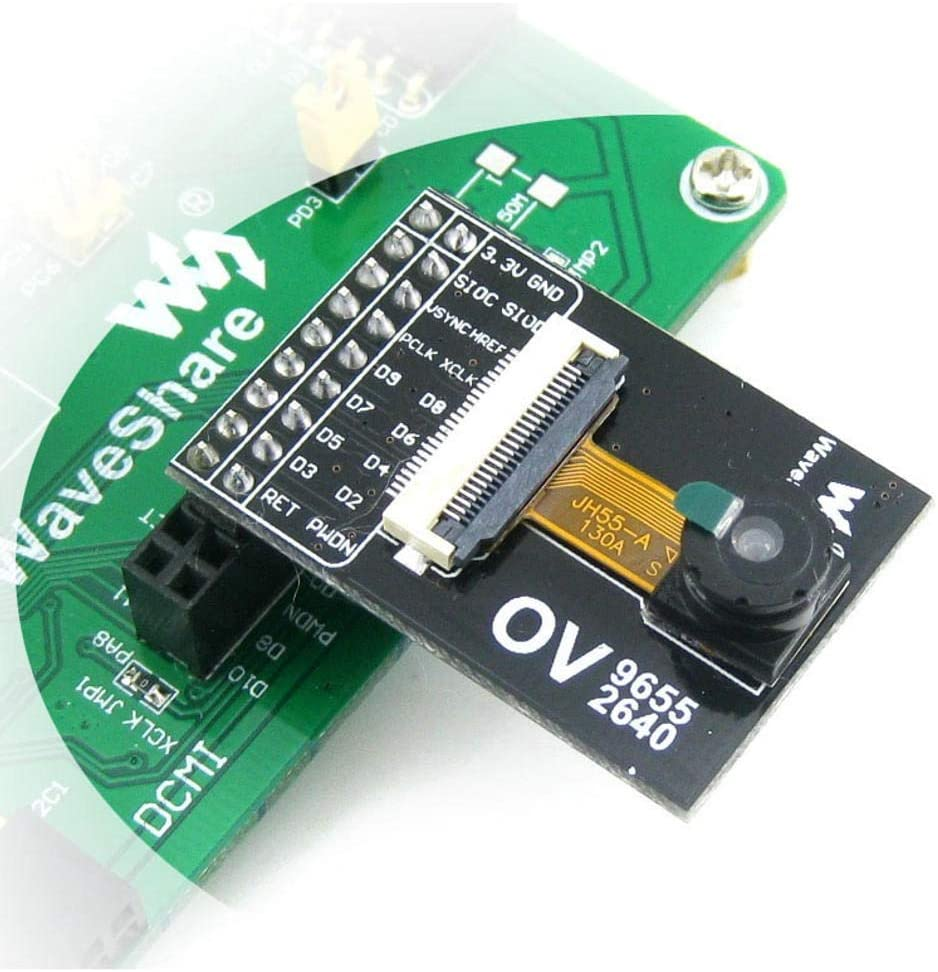 Waveshare OV9655 Camera Module CMOS 1.3 Million SXGA 1280x1024 Camera Acquisition Module Power Module