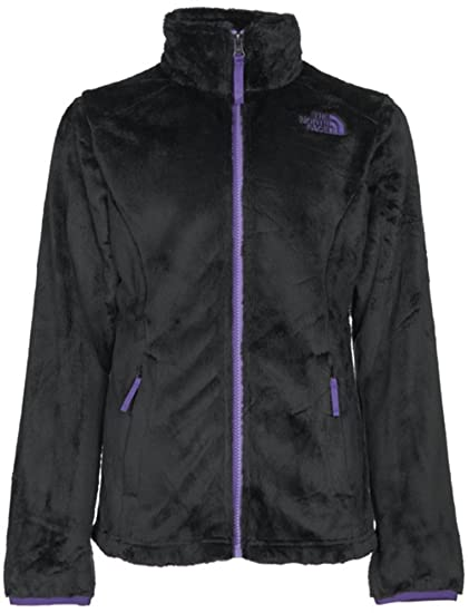 6881a95e78b5 Amazon.com  THE NORTH FACE Girl s OSOLITA JACKET (Black Purple) - S ...