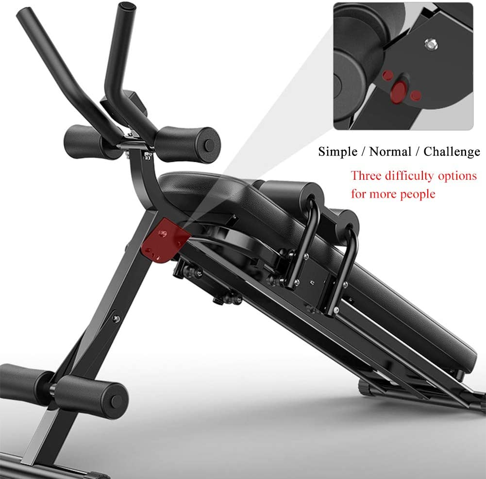 Max Load 300 Kg Cardio Abdominal and Back Trainer with LCD Monitor for Muscle Training Whole Body Workout Machine Waist Cruncher Core