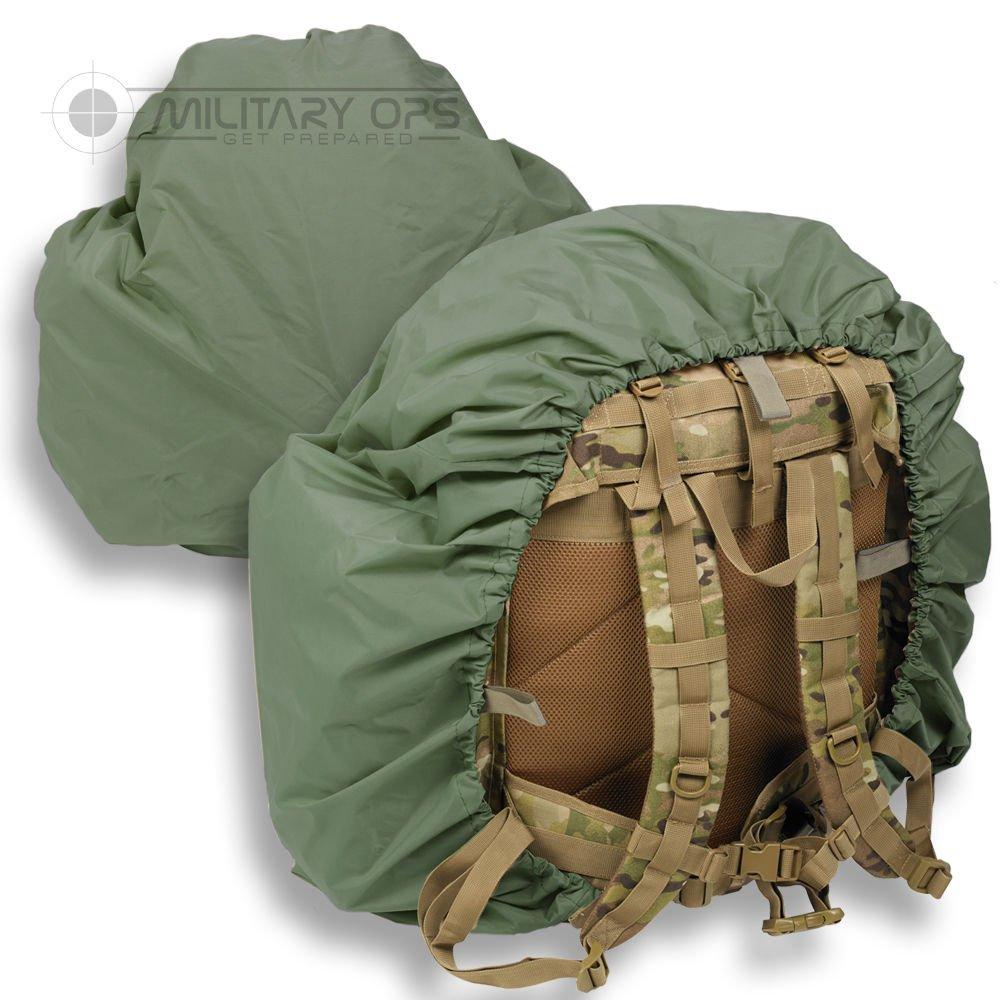 120 Liter Bergen/Rucksack Cover Olive Green Alpha Tactical ATBERG_O
