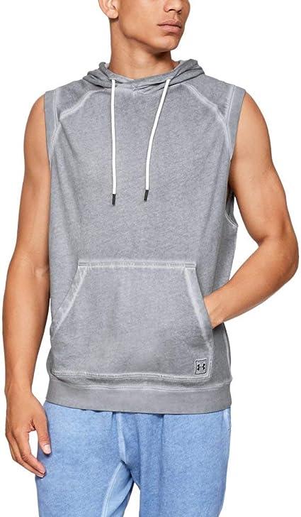 Under Armour Men Sportstyle sleeveleshort Sleeve Hoodie
