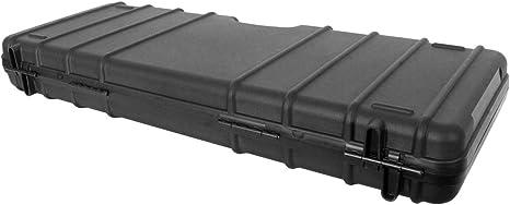 verst/ärkt und robust 119x33cm BEGADI Airsoft Gewehrkoffer//Hardcase Zulu aus Kunststoff flach