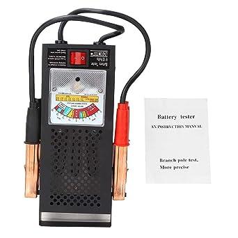 Probador de batería Probador de carga de batería de 6V 12V y ...