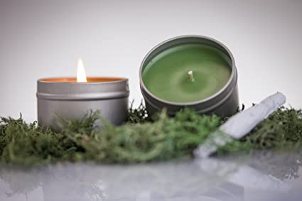 Amazon com: Feel Alright Marijuana/Weed Scented Soy Candle: Home