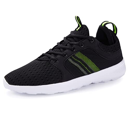 Mens Running Shoes Walking Fashion Breathable Sneakers Athletic Mesh Soft  Sole Casual Lightweight Sport Shoes (