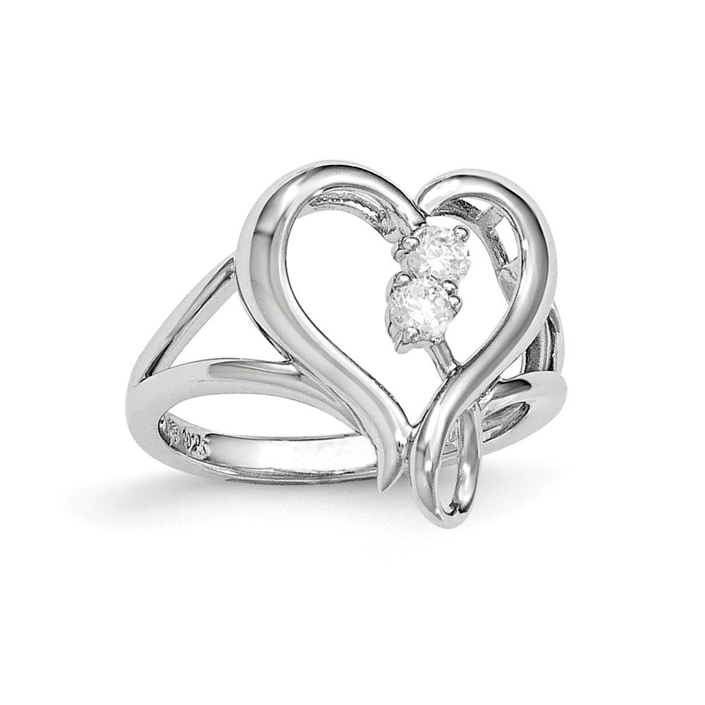 Sterling Silver CZ Pure in Spirit Ring