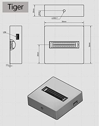 Raman Detector: Highly Sensitive Linear CCD Detector: Tiger300: Amazon.com: Industrial & Scientific