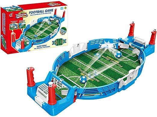 Liu Yu·casa creativa Mini Mesa De Futbolín Juegos De Mesa De Fútbol para Niños Adultos Juego Familiar Clásico Futbolín Juegos de Mesa de Fútbol, 1 Set Mini Futbolín Juego Regalo De Cumpleaños: