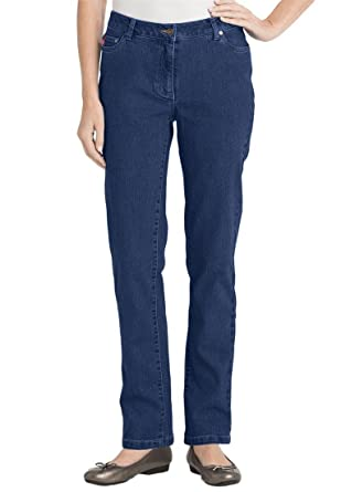 Amazon.com: Women's Plus Size Petite Skinny Stretch Jean: Clothing