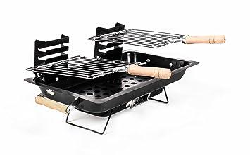 Tisch Holzkohlegrill Für Innen : Holzkohle tisch grill heizstufen grillroste belüftung