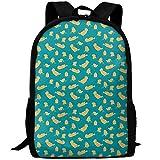 Webb Backpack Laptop Travel Hiking School Shoulder Bag Yellow Bear Swim Daypacks